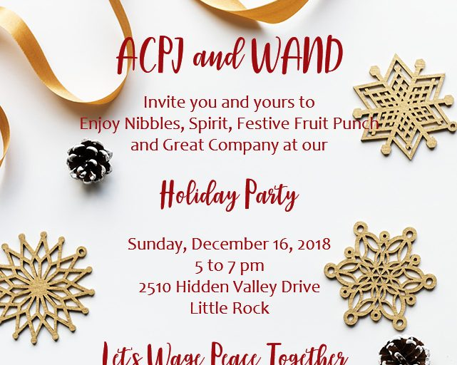 Holiday Party with ACPJ!