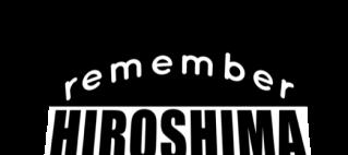 remember hiroshima logo